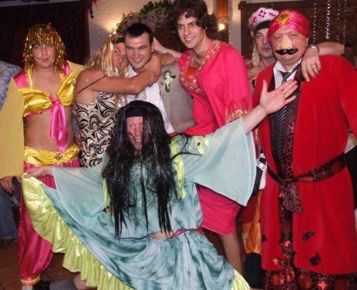 Как сделать костюмы для юбилея
